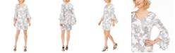 MSK Petite Bell-Sleeve Sheath Dress
