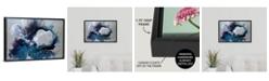"GreatBigCanvas 'Cerulean waters' Framed Canvas Wall Art, 24"" x 16"""