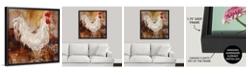 "GreatBigCanvas Backyard Guest I' Framed Canvas Wall Art, 36"" x 36"""