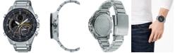 G-Shock G-Shock Men's Solar Analog-Digital Stainless Steel Bracelet Watch 48mm