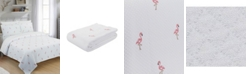 Nouvelle Home Flamingo Twin Coverlet