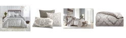 Hotel Collection CLOSEOUT! Classic Embossed Jacquard Full/Queen Duvet