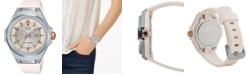 G-Shock Baby-G Women's Solar Pearl White Resin Strap 38.8mm