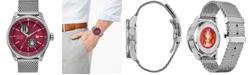 Citizen Citizen Eco-Drive Men's Star Wars New Era Stainless Steel Mesh Bracelet Watch 45mm