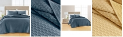 Martha Stewart Collection Feather Velvet Twin/Twin XL Quilt, Created for Macy's