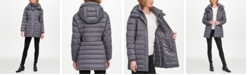 DKNY Hooded Packable Puffer Coat