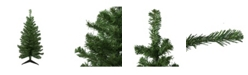 Northlight Unlit Medium Mixed Classic Pine Artificial Christmas Tree