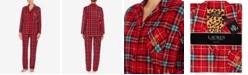 Lauren Ralph Lauren Fleece Packaged Pajama Set
