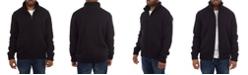X-Ray  Men's Color Blocked Full-Zip High Neck Sweater Jacket