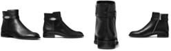 Michael Kors Finley Flat Leather Booties