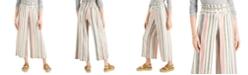 Indigo Rein Juniors' Cropped Wide-Leg Pants