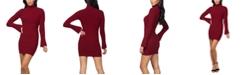 bebe RTV- Bell-Sleeve Ribbed Sweater Dress