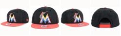 New Era Miami Marlins Heather 2Tone Snapback Cap