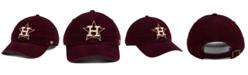 '47 Brand Houston Astros Dark Maroon CLEAN UP Cap
