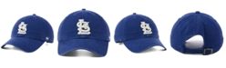 '47 Brand St. Louis Cardinals Timber Blue CLEAN UP Cap