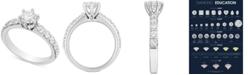 Macy's Diamond Engagement Ring (1-1/2 ct. t.w.) in 14k White Gold