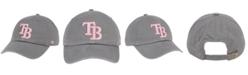 '47 Brand Tampa Bay Rays Dark Gray Pink CLEAN UP Cap