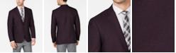 Kenneth Cole Reaction Men's Slim-Fit Burgundy Shimmer Sport Coat, Online Only