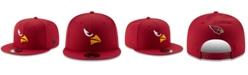 New Era Arizona Cardinals Logo Elements Collection 9FIFTY Snapback Cap