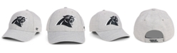 '47 Brand Carolina Panthers Heathered Black White MVP Adjustable Cap