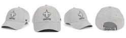 '47 Brand New Orleans Saints Heathered Black White MVP Adjustable Cap