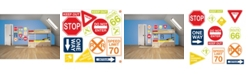 Brewster Home Fashions Road Signs Wall Art Kit