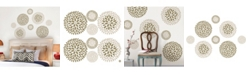 Brewster Home Fashions Chrysanthemum Wall Art Kit