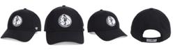 '47 Brand Dallas Mavericks Black White MVP Cap