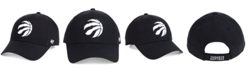 '47 Brand Toronto Raptors Black White MVP Cap