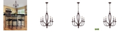 ELK Lighting Medford 5-Light Chandelier in Oiled Bronze