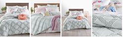Martha Stewart Collection CLOSEOUT! Chenille Trellis Bedding Collection, Created for Macy's
