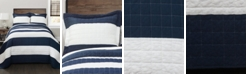 Lush Decor New Berlin Stripe 2-Pc Set Twin Quilt Set