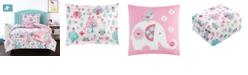 Chic Home Elephant Garden 4 Piece Twin Comforter Set