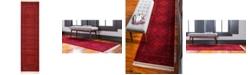 "Bridgeport Home Vivaan Viv1 Red 2' 7"" x 10' Runner Area Rug"