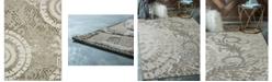 Bridgeport Home Pashio Pas3 Ivory 7' x 10' Area Rug