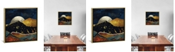 """iCanvas Bronze Night by Spacefrog Designs Gallery-Wrapped Canvas Print - 37"""" x 37"""" x 0.75"""""""