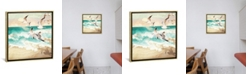 """iCanvas Summer Flight by Spacefrog Designs Gallery-Wrapped Canvas Print - 37"""" x 37"""" x 0.75"""""""