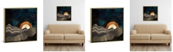 """iCanvas Gold and Silver Fields by Spacefrog Designs Gallery-Wrapped Canvas Print - 18"""" x 18"""" x 0.75"""""""