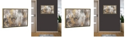 "iCanvas Gold Ikat by Pi Galerie Gallery-Wrapped Canvas Print - 18"" x 26"" x 0.75"""