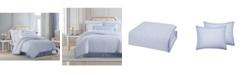 Charisma CLOSEOUT! Settee Cotton Printed California King 4 Piece Duvet Cover Set