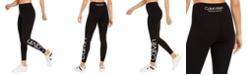 Calvin Klein Logo High-Waist 7/8 Length Leggings