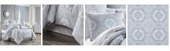 Royal Court Claremont Blue Full 4pc. Comforter Set