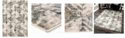 "Palmetto Living Riverstone Maverick Cloud Gray 6'7"" x 9'6""  Area Rug"