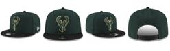 New Era Boys' Milwaukee Bucks Basic 9FIFTY Snapback Cap