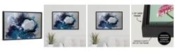 "GreatBigCanvas 'Cerulean waters' Framed Canvas Wall Art, 30"" x 20"""