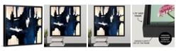"GreatBigCanvas 'Caves' Framed Canvas Wall Art, 16"" x 16"""