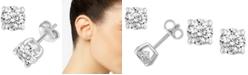 Macy's Diamond Stud Earrings (3/8 ct. t.w.) in 14k White Gold