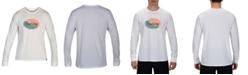 Hurley Men's Lightning Logo Long Sleeve T-Shirt