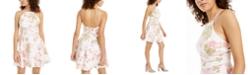 City Studios Juniors' Asymmetrical A-Line Dress