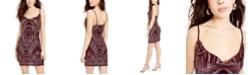 Jump Juniors' Glitter-Print Bodycon Dress